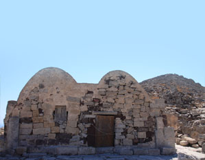 santorini ancient Thera chapel